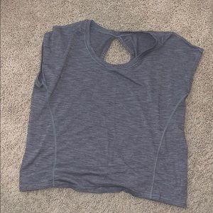 Lululemon Open Back Muscle T-Shirt Size 8